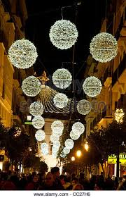 Christmas Decorations Street Lights by Christmas Street Light Decorations In Stock Photos U0026 Christmas