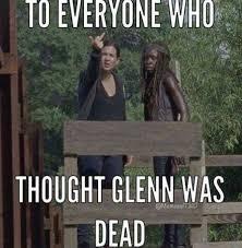 Glenn Walking Dead Meme - best 25 glenn death meme ideas on pinterest glenn dies walking