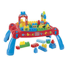 mega bloks table toys r us mega bloks first builders build n learn table 8237 mega