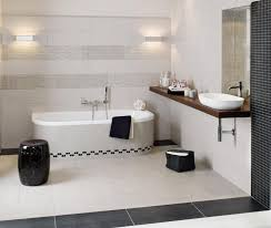 badezimmer jugendstil ideen ehrfürchtiges badezimmer braun weiss mosaik fliesen