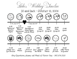 wedding ceremony timeline wedding day timeline clipart 75