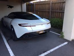 many aston martins spotted around my dentists new aston martin db11 he traded his v8 vantage for