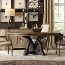 light wood round dining table hooker furniture corsica 54 round dining table with 18 leaf
