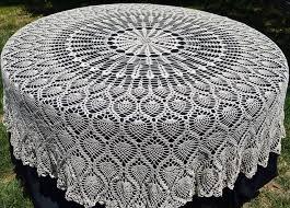 Crochet Table Cloth 144 Best Crochet Tablecloths Images On Pinterest Crochet