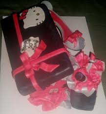 50th birthday hello kitty shoe cake cakecentral com
