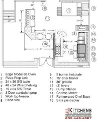 Commercial Kitchen Floor Plans by Commercial Kitchen Design All Kitchens Of New Hampshire Inc