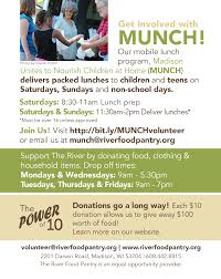 thanksgiving food bank volunteer volunteering opportunities at the river food pantry the river