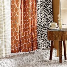 animal print shower curtain foter