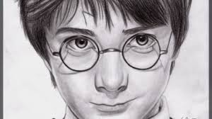 harry potter drawings draw harry potter 9 steps
