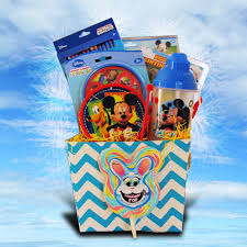 kids easter gift baskets mickey mouse easter gift basket for children 10 gift