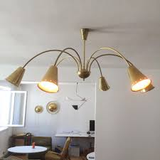 sputnik chandelier an iconic design for more than 50 years large 6 armed sputnik chandelier 1950s for sale at pamono