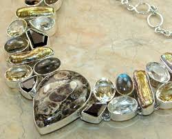 agate jewelry necklace images Silver jewelry handmade silver jewellery jaipur silver jewelry JPG