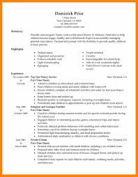 How To Write Resume For Part Time Job by 4 Resume For Part Time Job Rn Cover Letter
