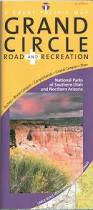 Utah Road Map by Utah U0027s Grand Circle Road U0026 Recreation Map National Parks Of