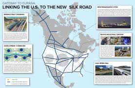 Silk Road Map Lpac Pamphlet The U S Joins The New Silk Road Larouchepac