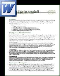 resume sle doc file download simple resume in word format