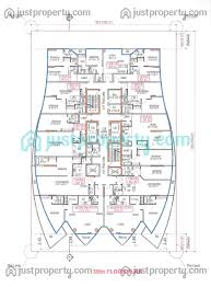 concorde tower master plans floor plans justproperty com