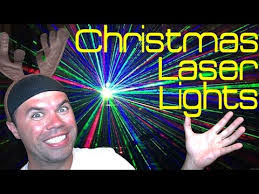 Laser Christmas Lights For Sale Christmas Laser Lights One Light Covers 2 500sq Ft Youtube