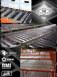punch deck open area corrugated rack deck manufactured by dacs