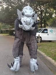 gargoyle costume than grey ghouly stilted gargoyle costume