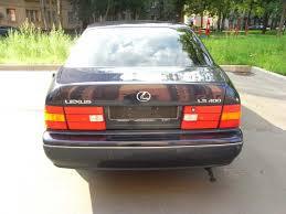 lexus ls400 1997 1998 lexus ls400 wallpapers 4 0l gasoline fr or rr automatic