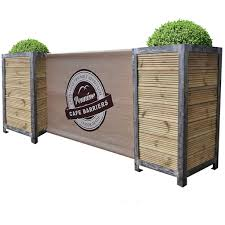 image result for outdoor cafe seating with planters outdoor