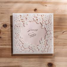 wedding invitations cards laser cut invitaitons cards high quality