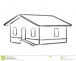 House Silhouette by Small House Vector Silhouette Royalty Free Stock Images Image