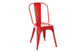 Design Notebook Colourful Steel Chairs And Wooden Birds Telegraph - Metal chair design