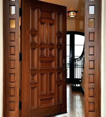 Solid Wood Exterior Doors Real Wood Front Doors Solid Wood Front Doors For Sale