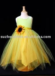 sunflower flower dress can you build me a yellow and