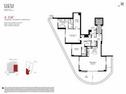 underground home floor plans plan faena house miami beach condo