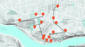 Map A Walking Route by Urban Wine Route Travel Tour Guide In Porto On Tales U0026 Tours