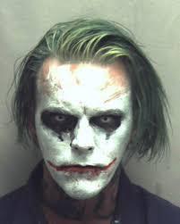 spirit halloween w2 man carrying a sword dressed as joker arrested in virginia