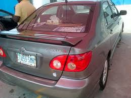 toyota corolla s 2005 for sale 2005 toyota corolla sport for sale mint autos nigeria