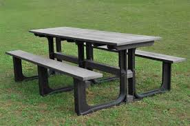 recycled plastic picnic tables large grey recycled plastic picnic table seats 12 schools