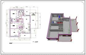 Drafting Floor Plans by Floor Plan Autocad Architecture Nice Home Zone