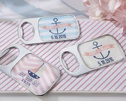 nautical baby shower favors nautical baby themed epoxy bottle opener available personalized