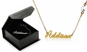 customized name necklace customized name necklace jewellshouse groupon