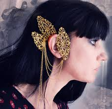 ear cuff jewelry jewelry labyrinth ear cuff ornate gold filigree