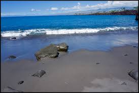 Black Sand Beaches by Amazing 49 Black Sand Beach The Only Black Sand Beach On The