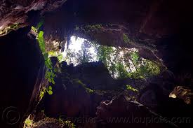 caving in mulu clearwater cave mouth borneo