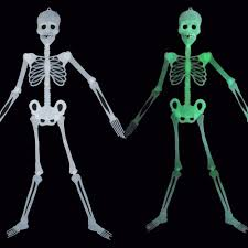 5 ft skeleton ebay 5ft halloween party decoration skeleton glow in the dark party prop home decor