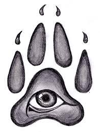 wolf pawprint design by pessoadapaz on deviantart