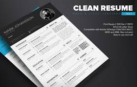 Resume Templates For Indesign 130 New Fashion Resume Cv Templates For Free Download 365 Web