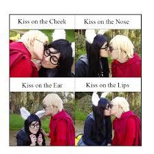 kiss meme or meme kiss by meiko taka on deviantart