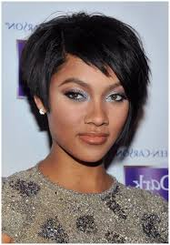shortcuts for black women with thin hair short hairstyles for black women for round faces women