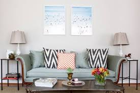 Sofa End Tables Nest Tour Living Room The Nesting Game