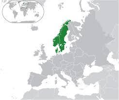 map of europe scandinavia scandinavia