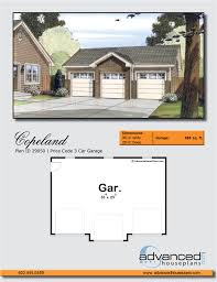 traditional garage plan copeland